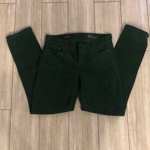 J crew green corduroy pants size 24